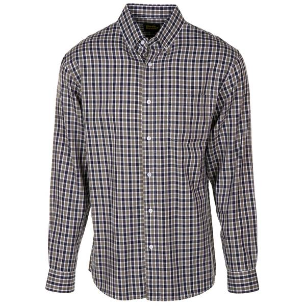 Men's Long Sleeve Button Down Twill Shirt