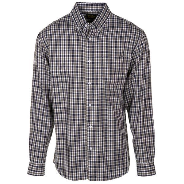 Men's Long Sleeve Button Down Twill Shirt