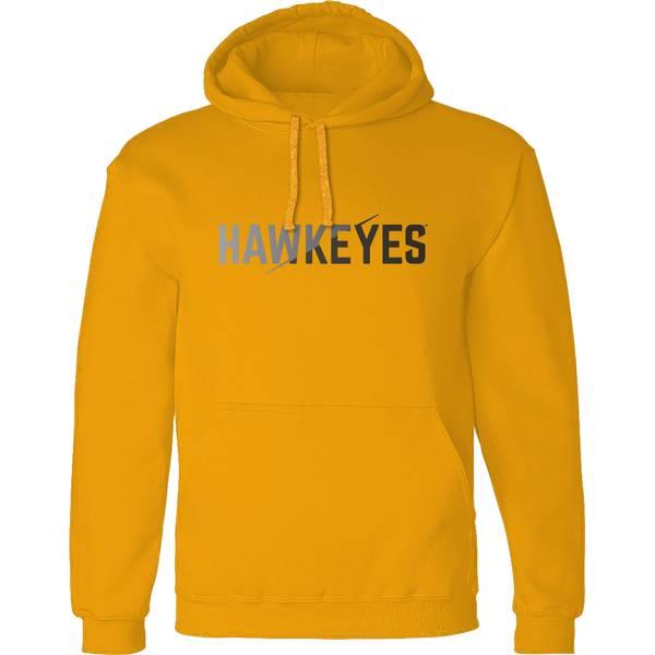 Men's Iowa Hawkeyes Split Hoodie