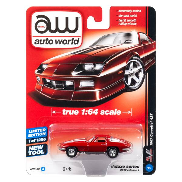Auto World Deluxe 1:64 Diecast Car Assortment