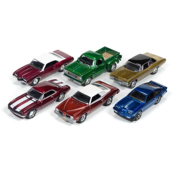 Johnny Lightning Holiday Classic 1:64 Diecast Car Assortment