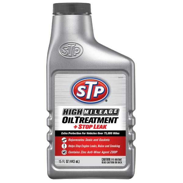 High Mileage Oil Treatment + Stop Leak