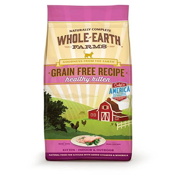 5 lb Grain Free Real Chicken Kitten Food