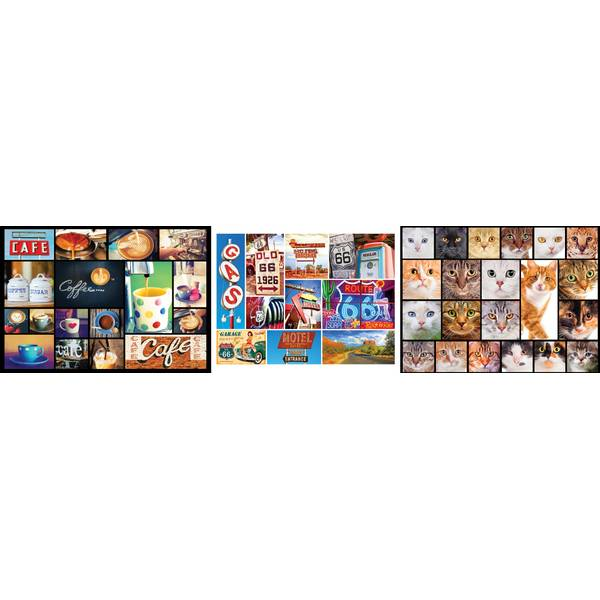 300-Piece Collage Puzzle Assortment
