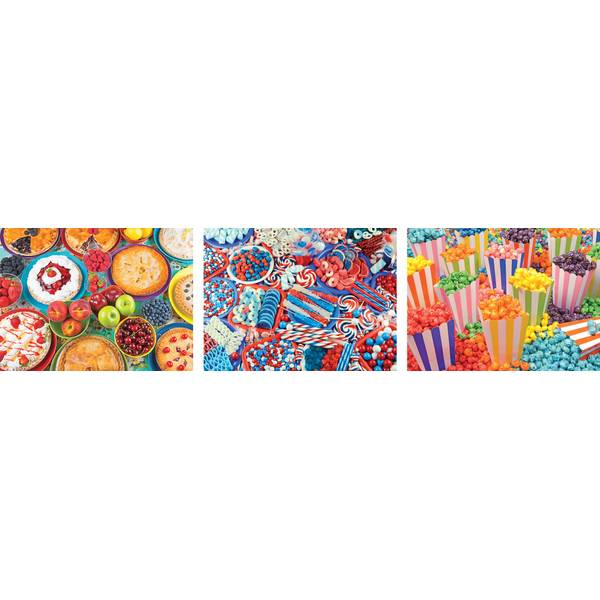 300-Piece Yummy Puzzle Assortment