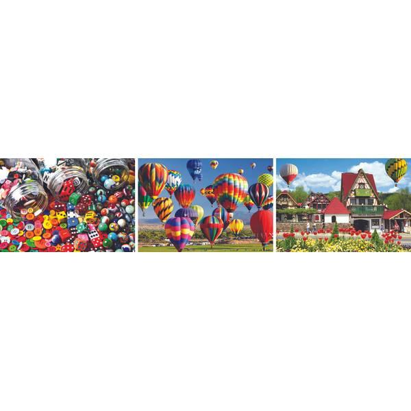 1000-Piece Colorluxe Puzzle Assortment