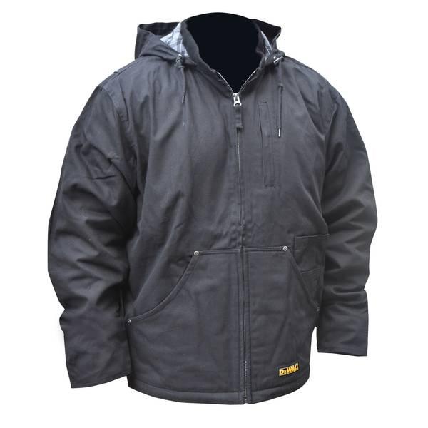 Men's Black Heated Work Jacket