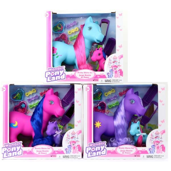 Wonder Pony Land Horse Family 2-Pack Assortment