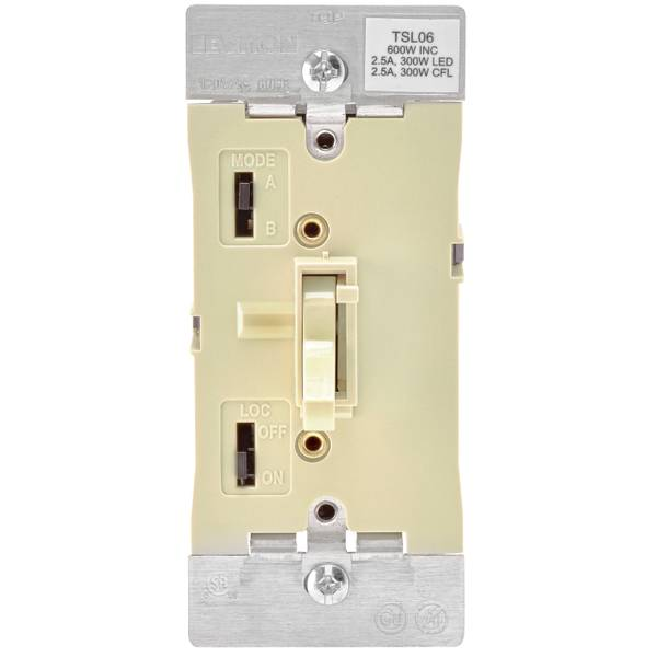 Ivory Toggle Dimmer