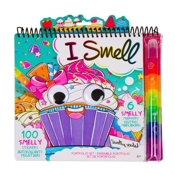I Smell Portfolio with Smelly Markers