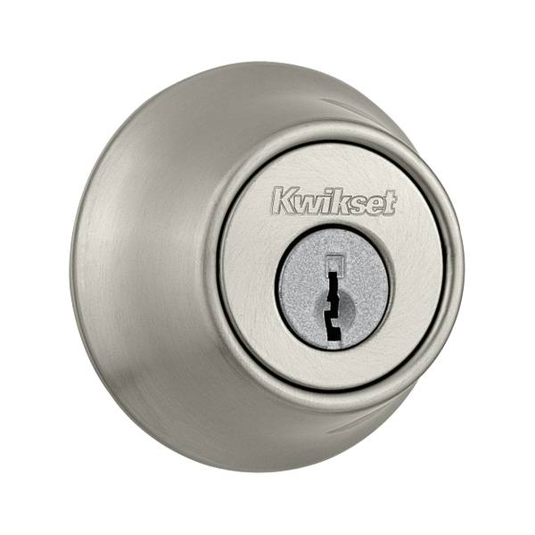 660 Single Cylinder Deadbolt in Satin Nickel