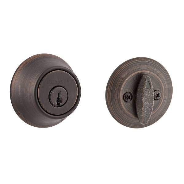660 Single Cylinder Deadbolt in Venetian Bronze