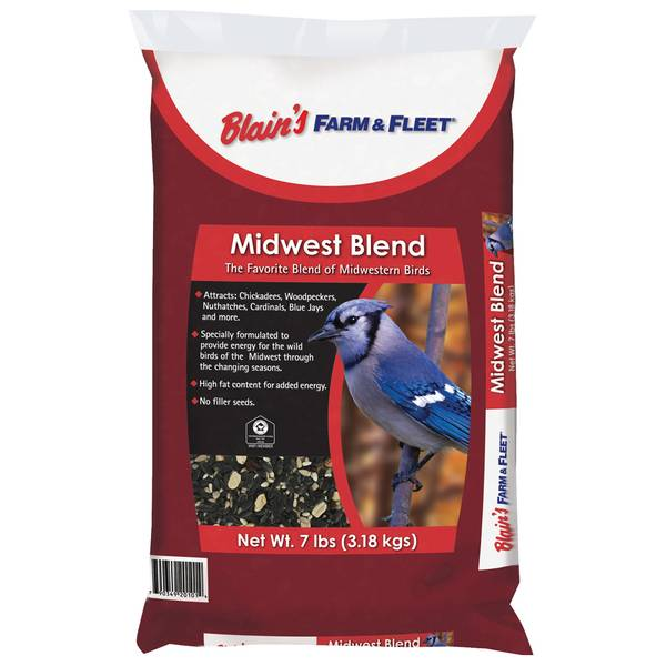 7 lb Midwest Blend Bird Seed