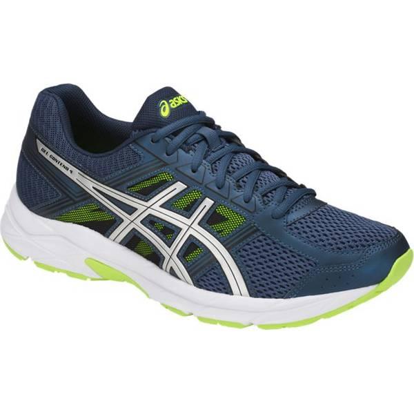 Men's Blue & Green Gel Contend 4 Shoes