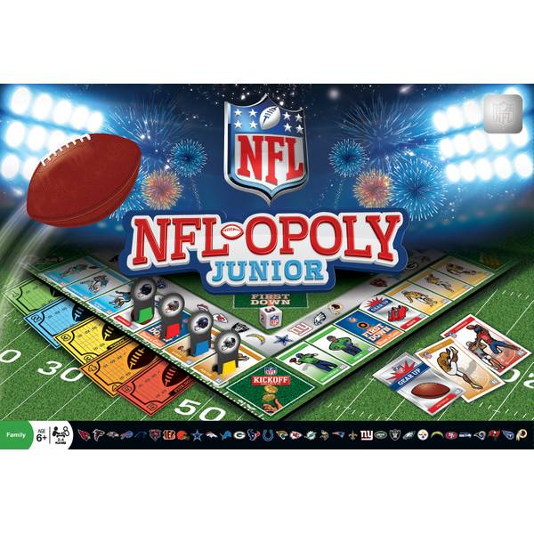 NFL-Opoly Junior Game