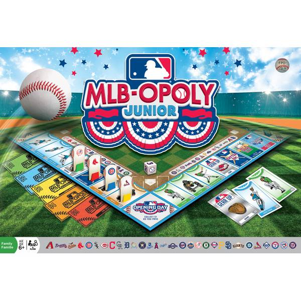 MLB-Opoly Junior Game