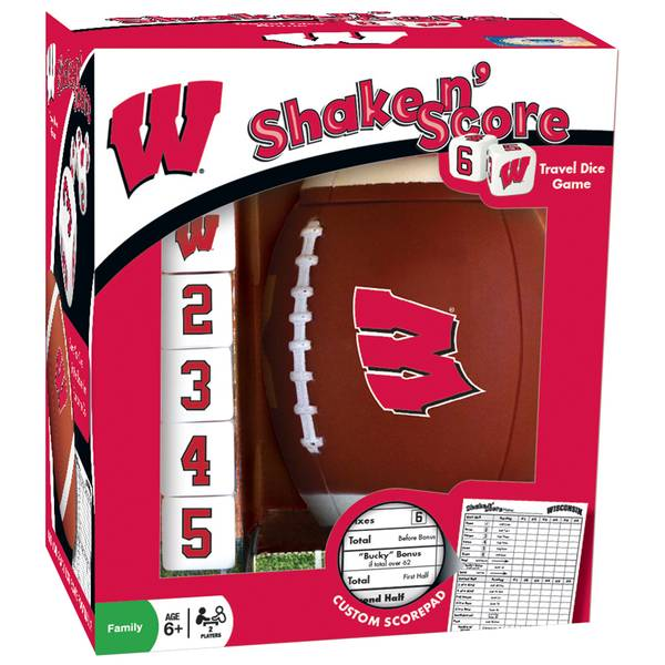 Wisconsin Badgers Shake 'n Score Game