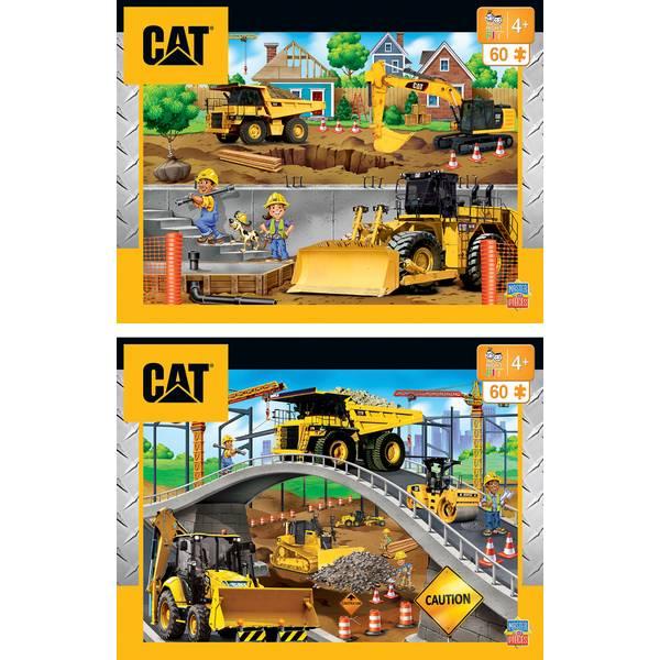 60-Piece CAT Puzzle Assortment