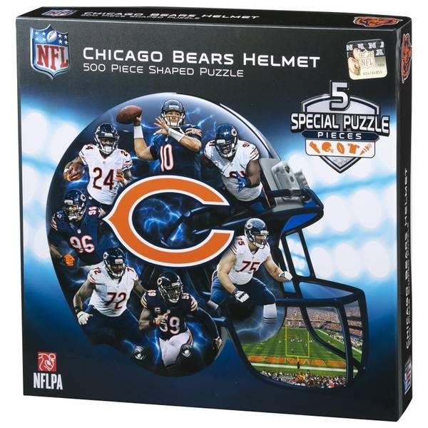 500-Piece Chicago Bears Helmet Puzzle