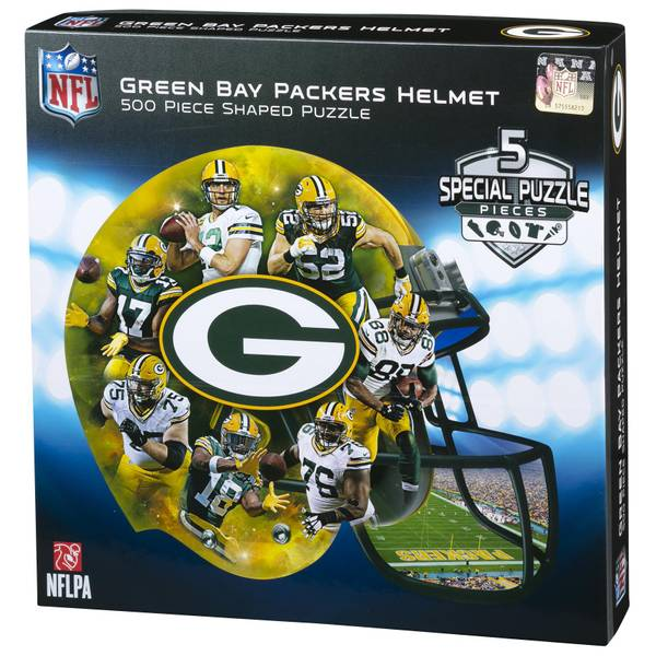 500-Piece Green Bay Packers Helmet Puzzle
