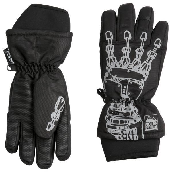 Boys' Robot Ski Gloves