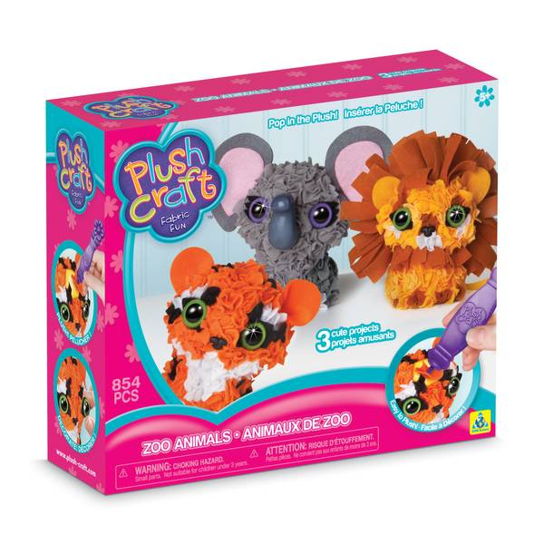 3D Zoo Animals 3-Pack