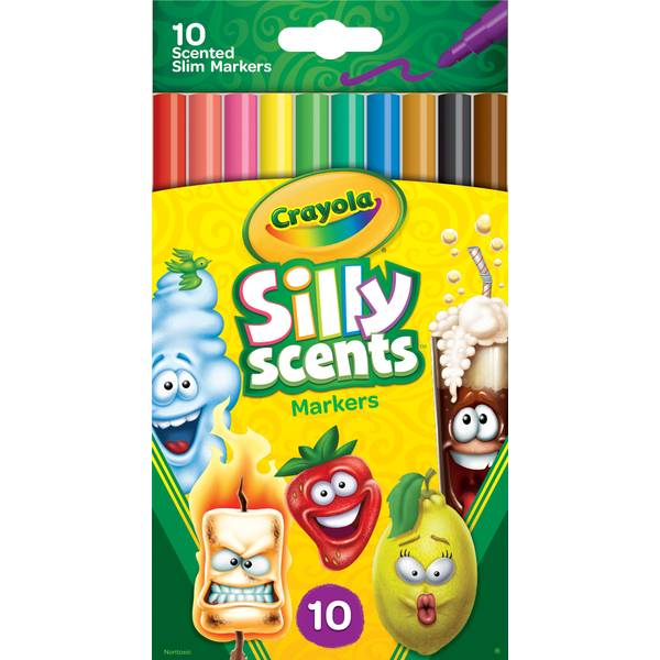 10-Count Silly Scents Fine Washable Markers