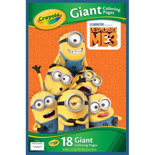 Despicable Me 3 Giant Coloring Pages
