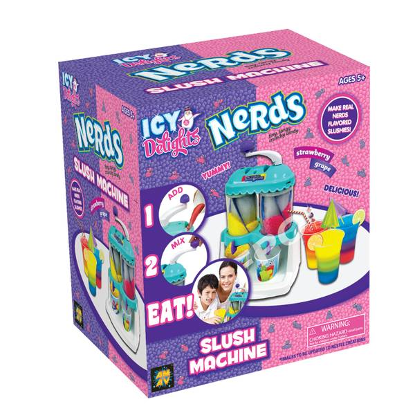 Multi Colord Nerds Slush Machine