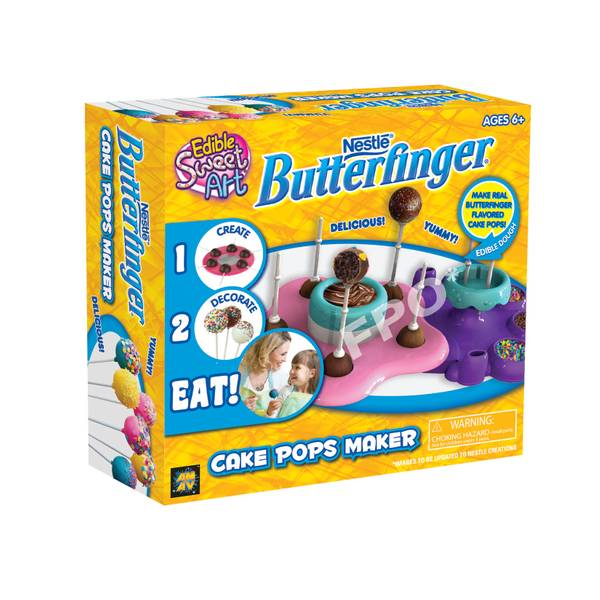 Butterfinger Cake Pops Maker