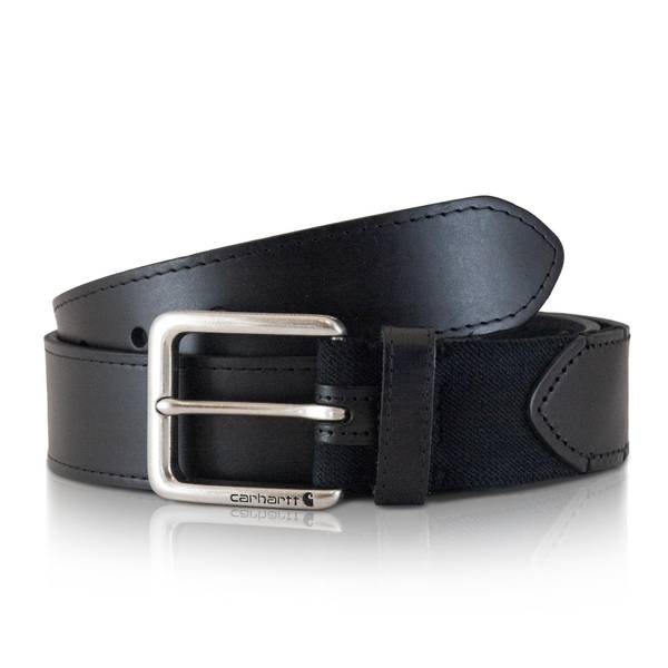 Men's Black Rugged Flex Belt
