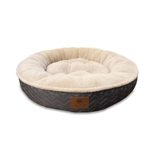 Herringbone Round Pet Bed Assortment