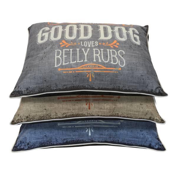 "30"" x 40"" Belly Rubs Dog Bed Assortment"