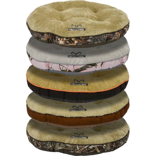 "37"" Round Realtree Tufted Gusset Bed Assortment"