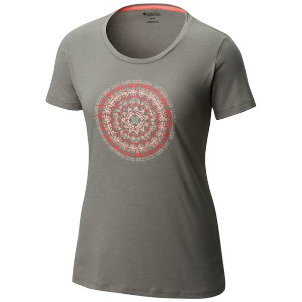 Women's Short Sleeve Aurora Sky Tee Blush Pink