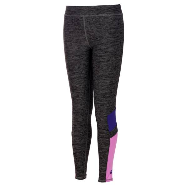 Girls' Grey Invincible Tights