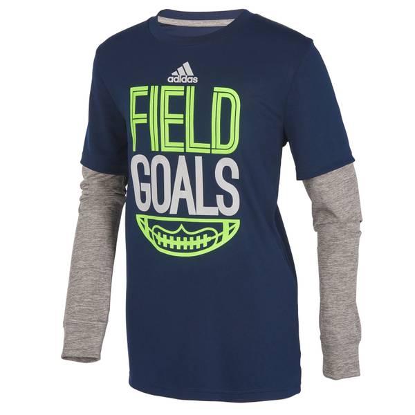 Little Boys' Field Goals Hangdown Tee