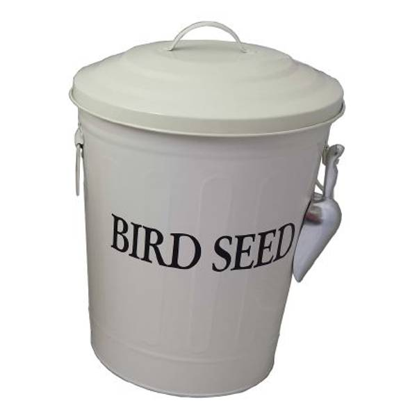 Beige Seed Container
