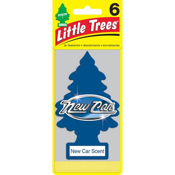 New Car Scent Air Freshener - 6 Pack