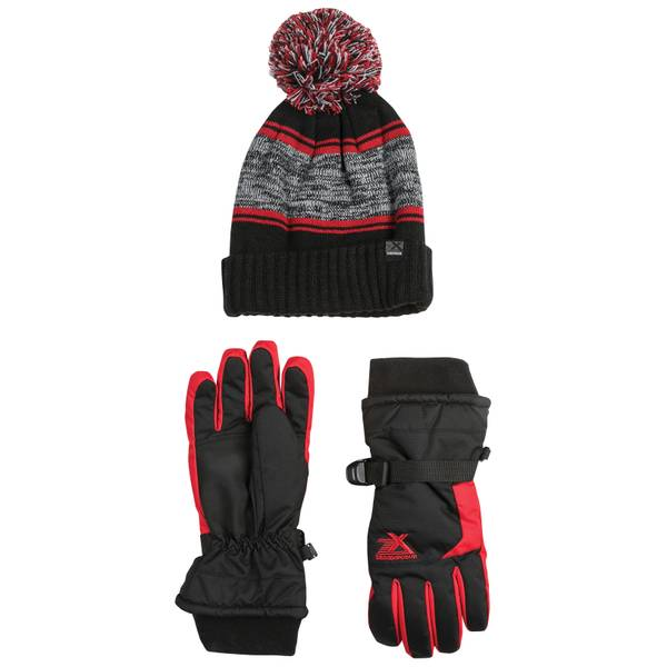 Boy's Kenny Hat & Gloves Set