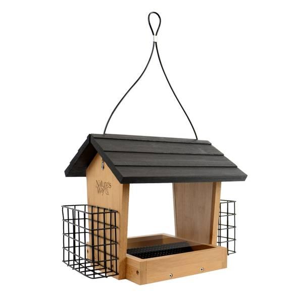 Hopper Feeder & Suet Cages
