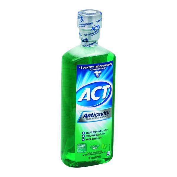 Fluoride mouthwash without alcohol