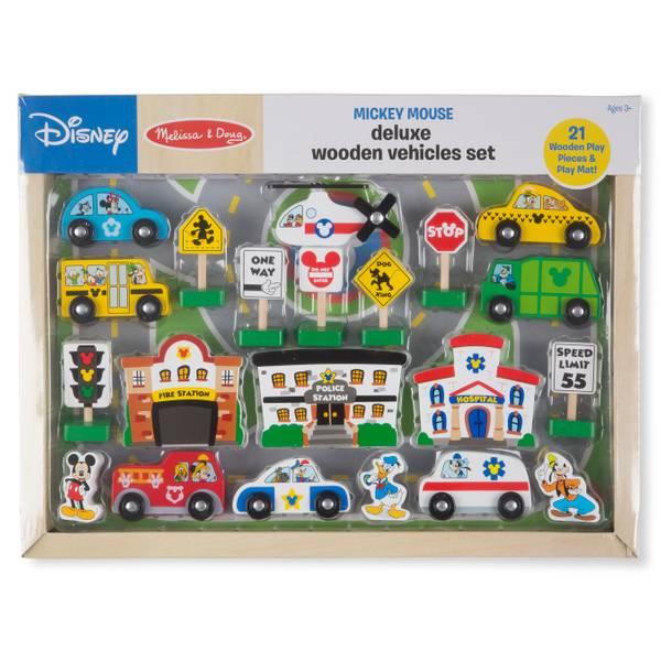 Mickey Deluxe Vehicles Set