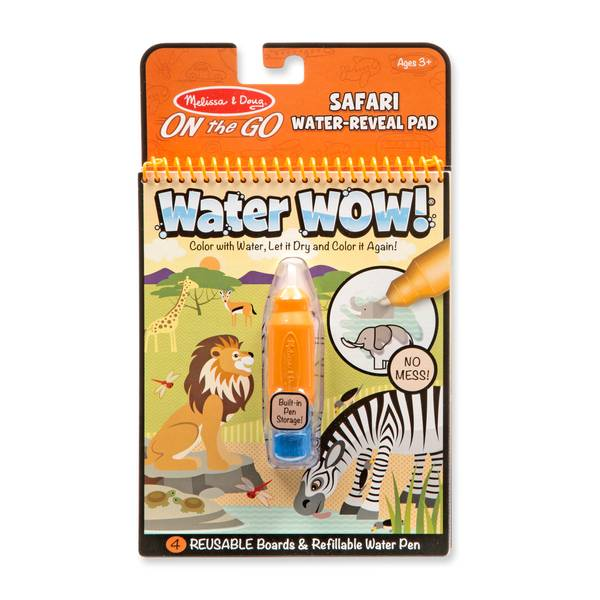 Water Wow! Safari Water Reveal Pad