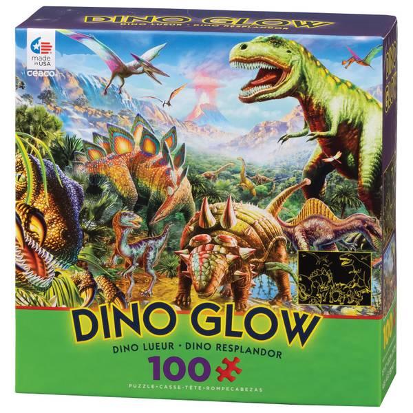 100-Piece Ready Set Glow Puzzle Assortment