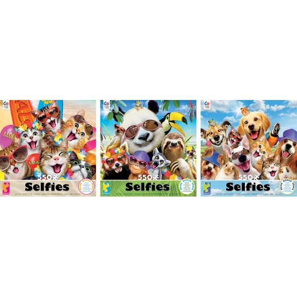550-Piece Selfies Puzzle Assortment