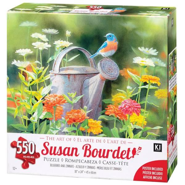550-Piece Susan Bourdet Puzzle Assortment