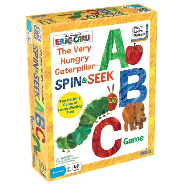 Very Hungry Catapillar Spin & Seek ABC Game