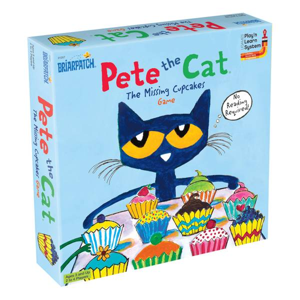 Pete the Cat Missing Cupcakes Game