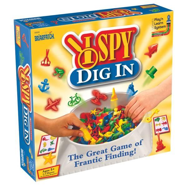 I SPY Dig In Game
